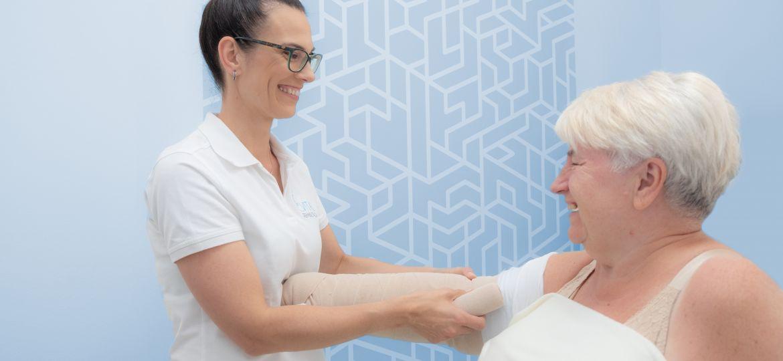 obrzęk limfatyczny leczenie